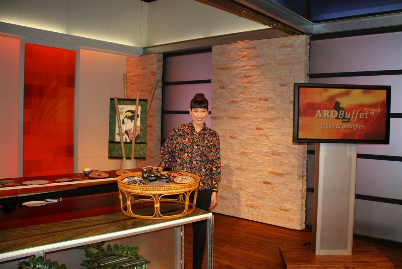 Yoshiko Klein von Noriko handmade live beim ARD-Buffet in Baden-Baden