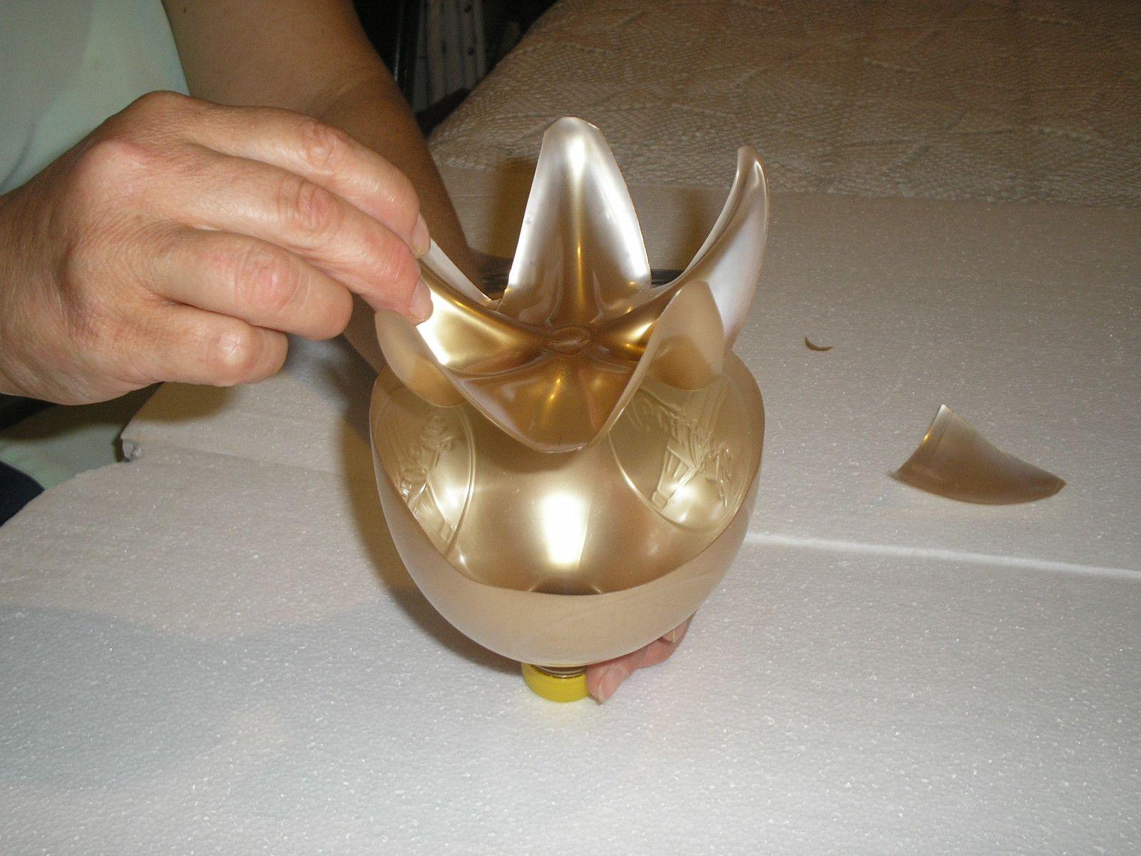 Мастер класс изготовления вазы из бутылки