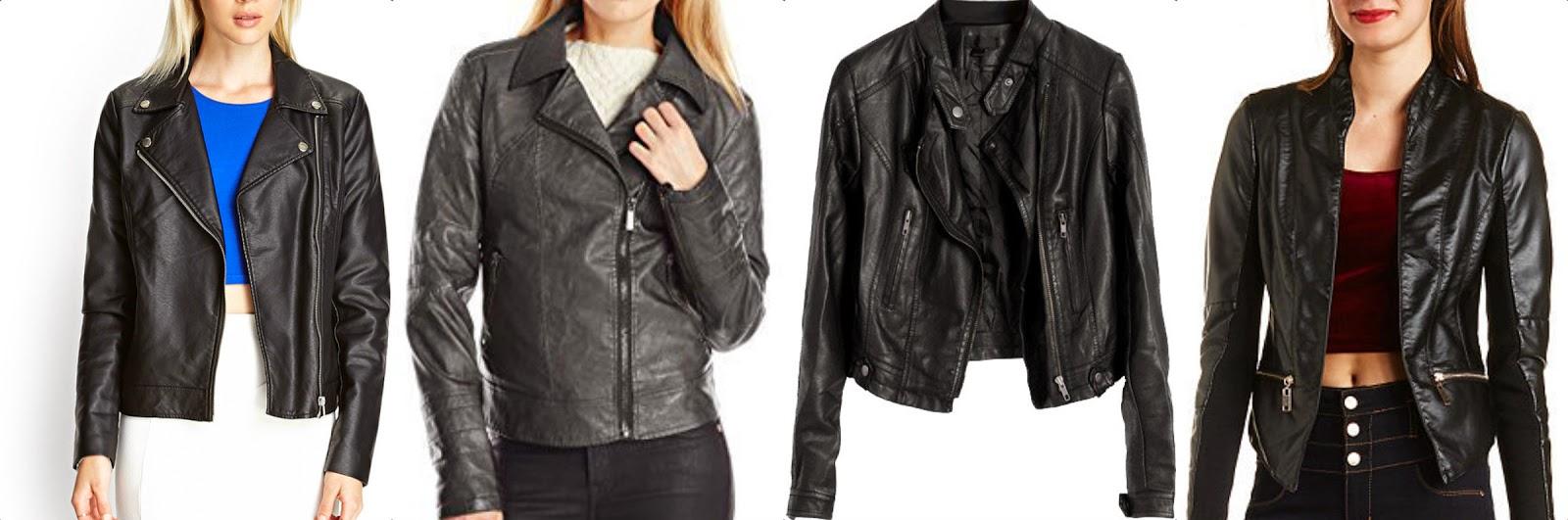 leather black moto jackets