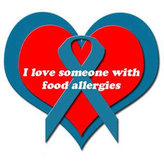 I love someone with food allergies
