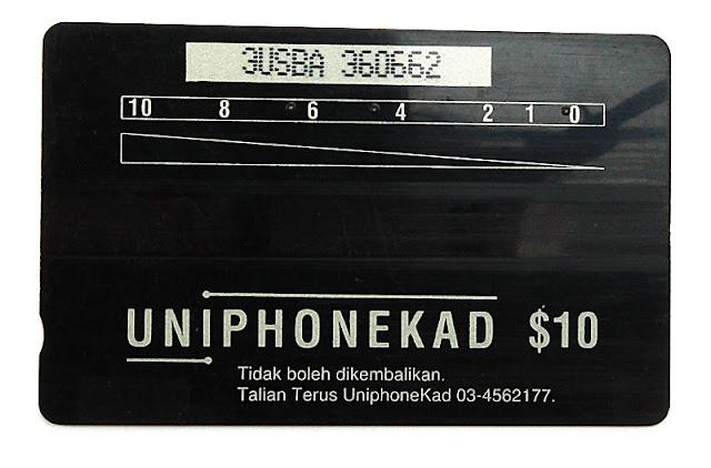 kad telefon awam Malaysia - uniphonekad