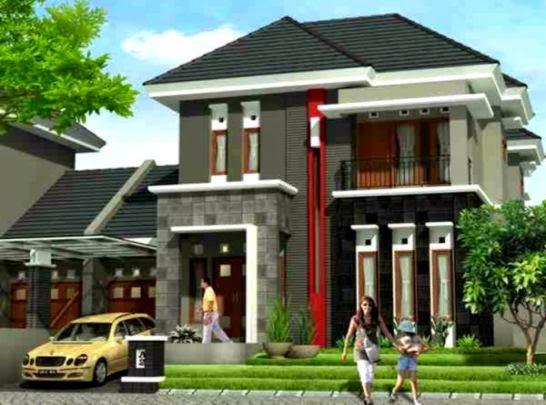 Desain Rumah Minimalis 2 Lantai Modern 2015 Lensarumah