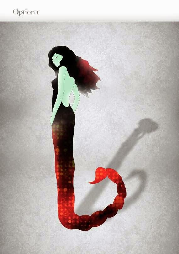 Signo del Zodiaco: Mujer Escorpión Vector