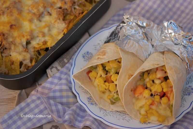 Burritos con maíz, receta degustabox