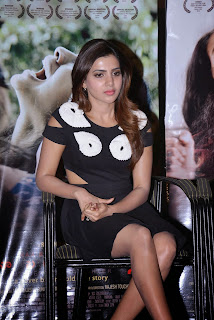 Samantha  Pictures in Short Dress at Naa Bangaaru Talli Movie Promotion ~ Celebs Next
