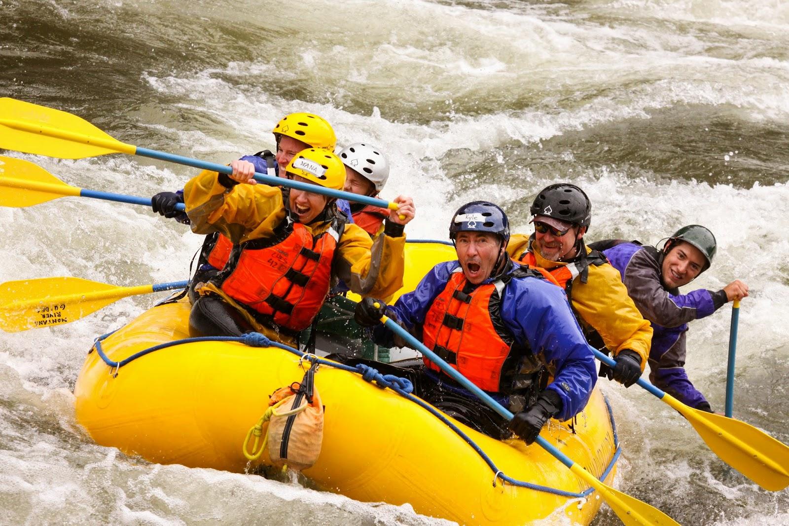 Raft Guide School, Whitewater Rafting Classes
