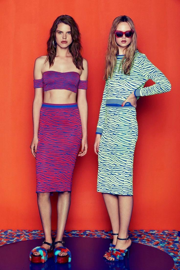 Tendências moda primavera-verão 2015 padrão zebra