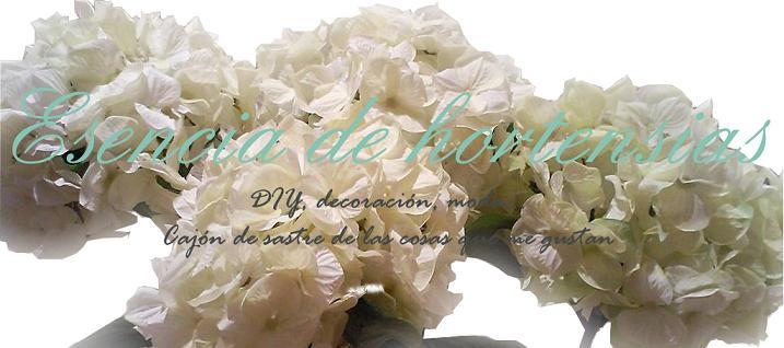 Esencia de hortensia