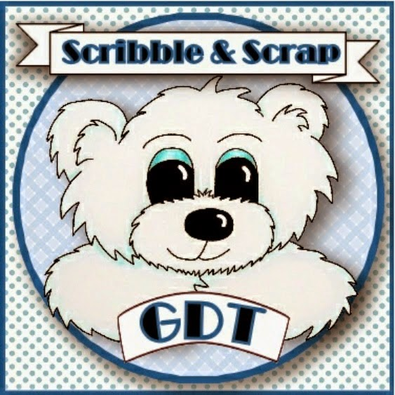 GDT MEMBER FOR SCRIBBLE AND SCRAP - AUGUST 2014