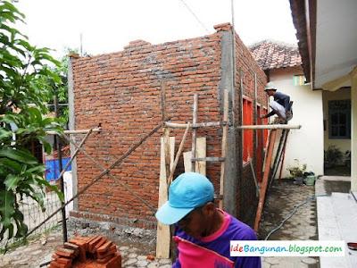 Praktek Memasang Bata Untuk Dinding ~ Memasang Dinding Bata