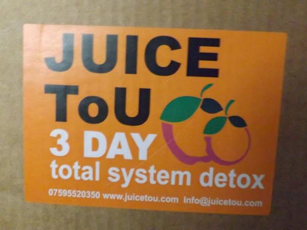 My 3 day Detox with Juice to u