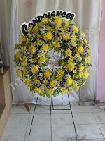 krans bunga duka cita murah di toko bunga jakarta