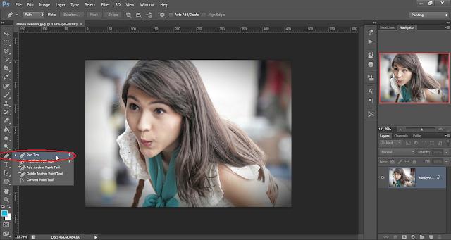 Cara menghapus background foto dengan mudah di photoshop cs6