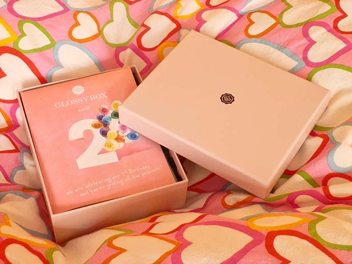 May Glossy Box, 2nd birthday edition