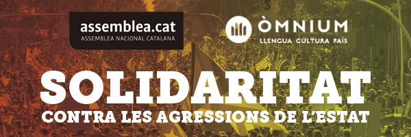 Solidaritat contra les agressions de l'estat espanyol