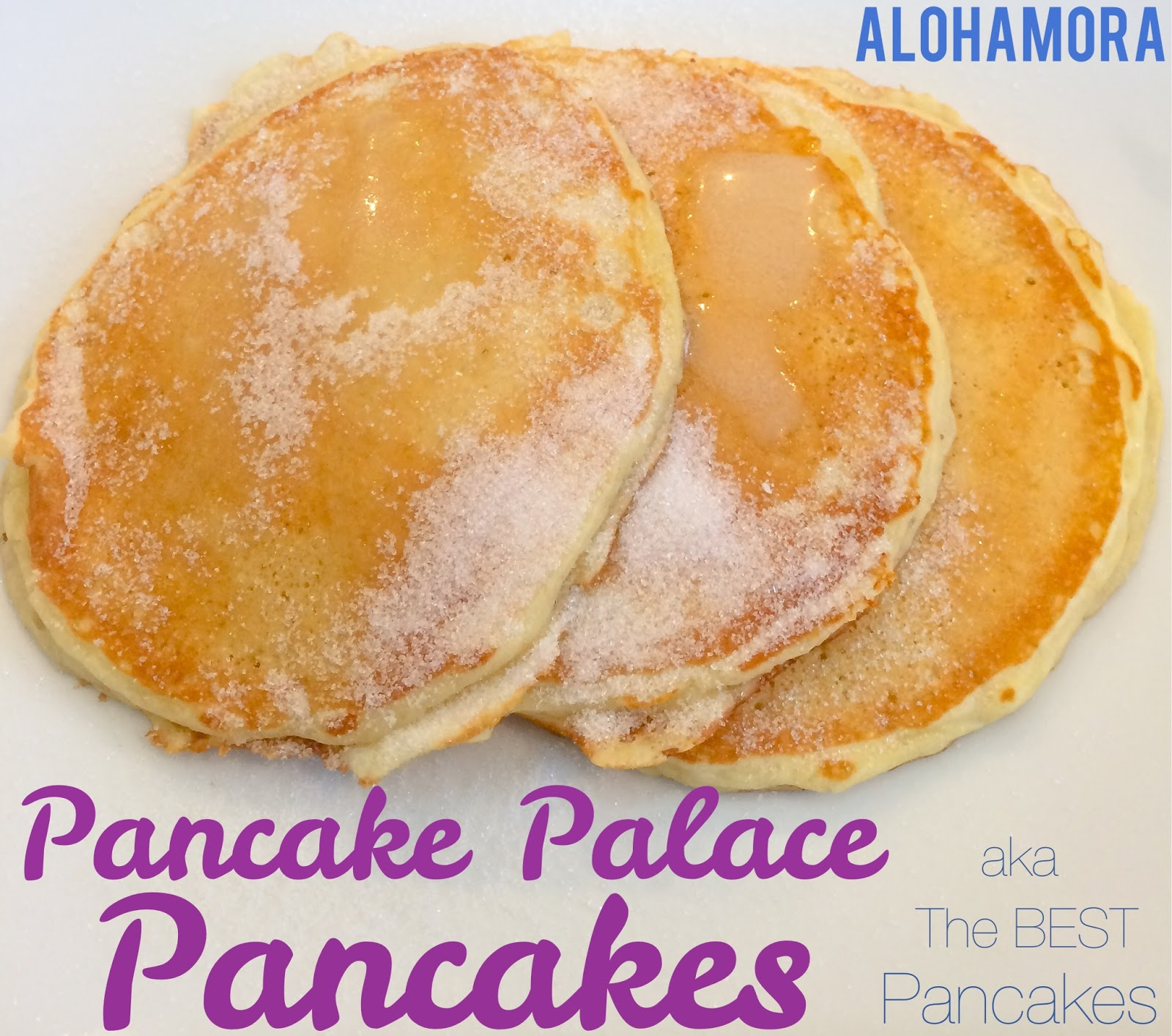The BEST pancakes inspired from the Pancake Palace.  A copycat recipe.  Light and fluffy pancakes that you won't be able to stop eating.  Homemade from scratch pancakes that are fast and easy to make; they are just as fast as box pancakes.  Alohamora Open a Book http://alohamoraopenabook.blogspot.com/