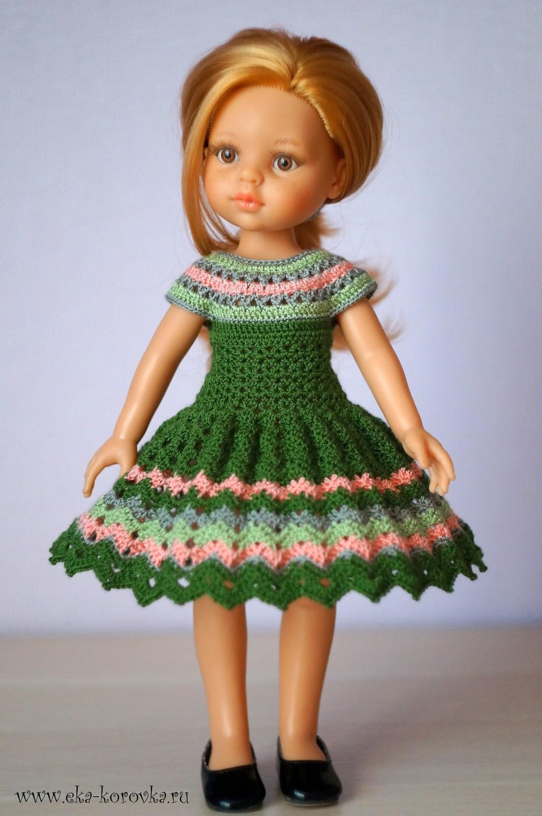 Вязание на куклу простое
