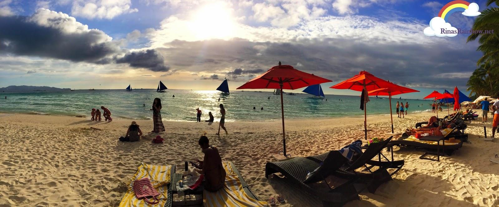 boracay beach panoramic