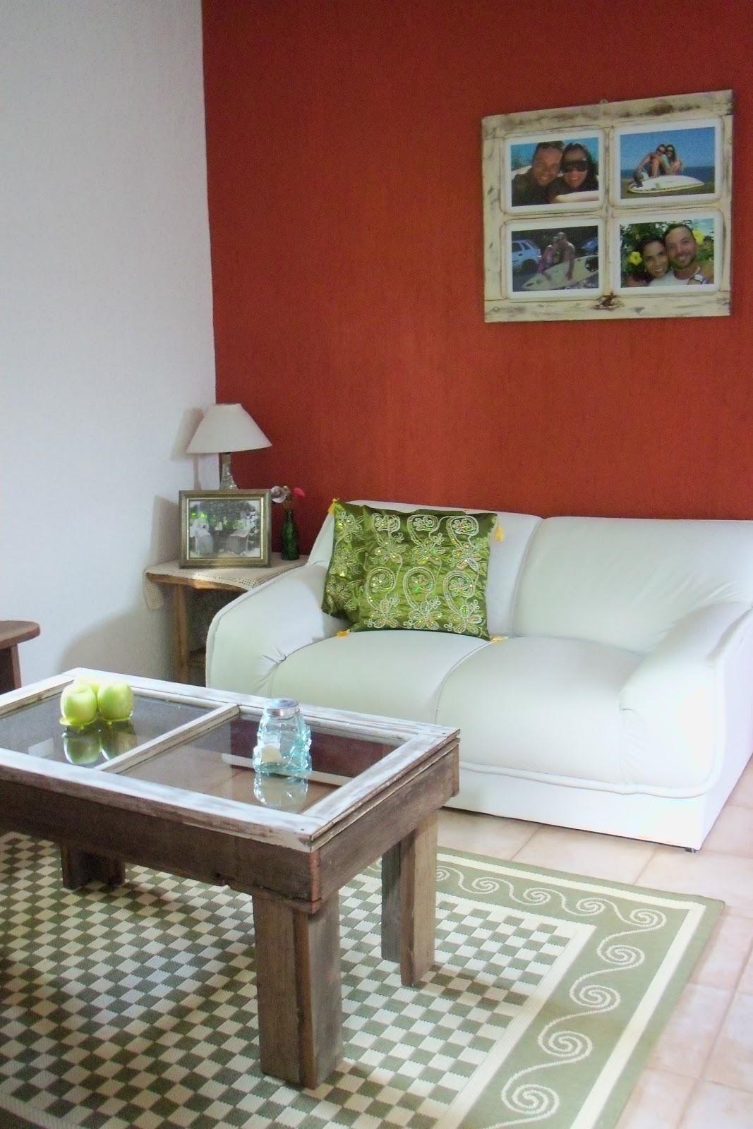 Sustentável por ´Maíra Fontoura: Minha Casa Reciclada! A sala #7C2F22 1067x1600