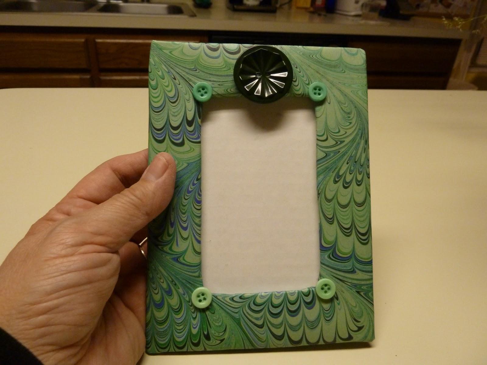 Как сделать фото рамка из картона