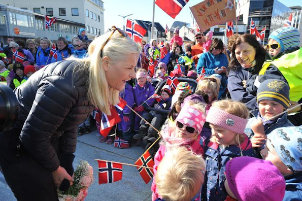 Crown Princess Mette-Marit of Norway opened the World Wildlife Foundation's (WWF) annual conference