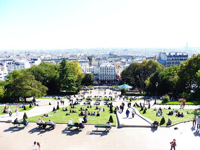 París desde la Basílica del Sagrado Corazón