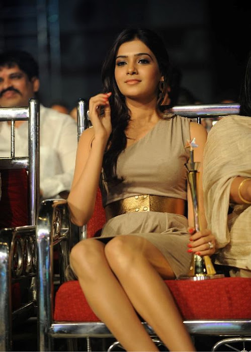 samantha at lux sandal cinemaa awards latest photos