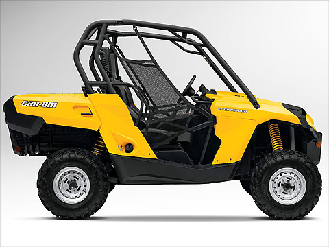 2012 Can-Am Commander 800R ATV pictures. 480x360 pixels