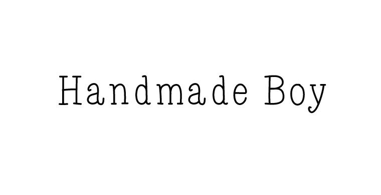 Handmade Boy