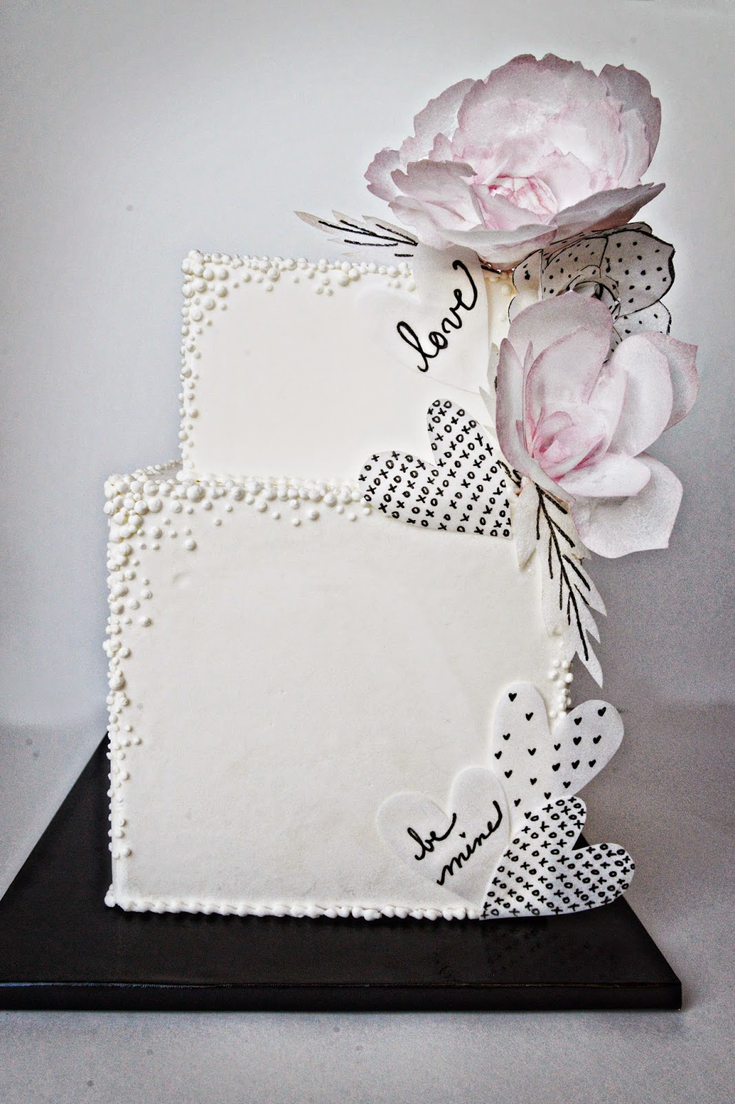 Cake Happens Wafer Paper Flowersd Love Notes
