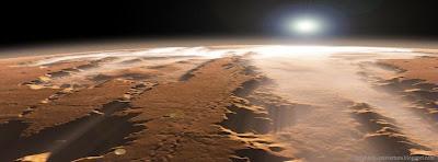 Couverture timeline facebook plus grand canyon du système solaire
