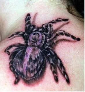 black spider tattoos - black spider tattoos pictures