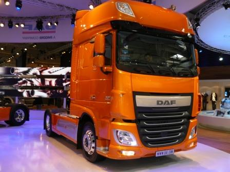 DAF showed new DAF XF 2013 ~ Truck-Cars