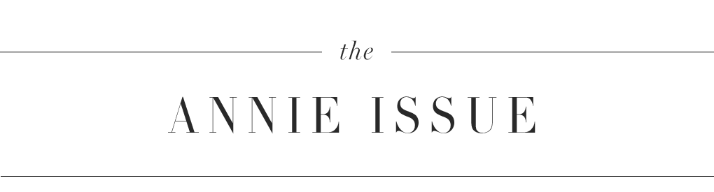 The Annie Issue