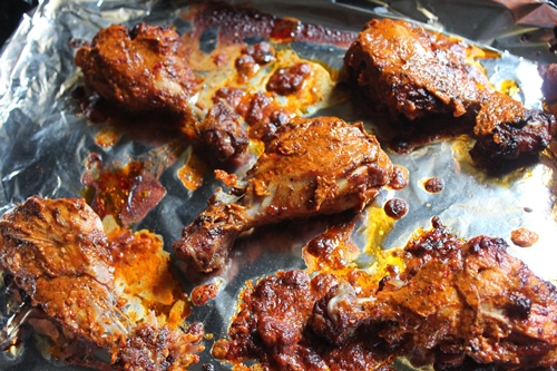 how to cook piri piri chicken in oven