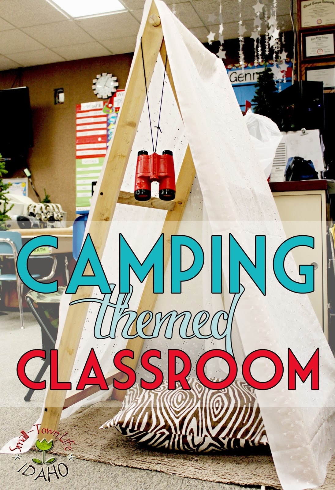 Classroom Ideas Theme ~ Our small town idaho life camping themed classroom