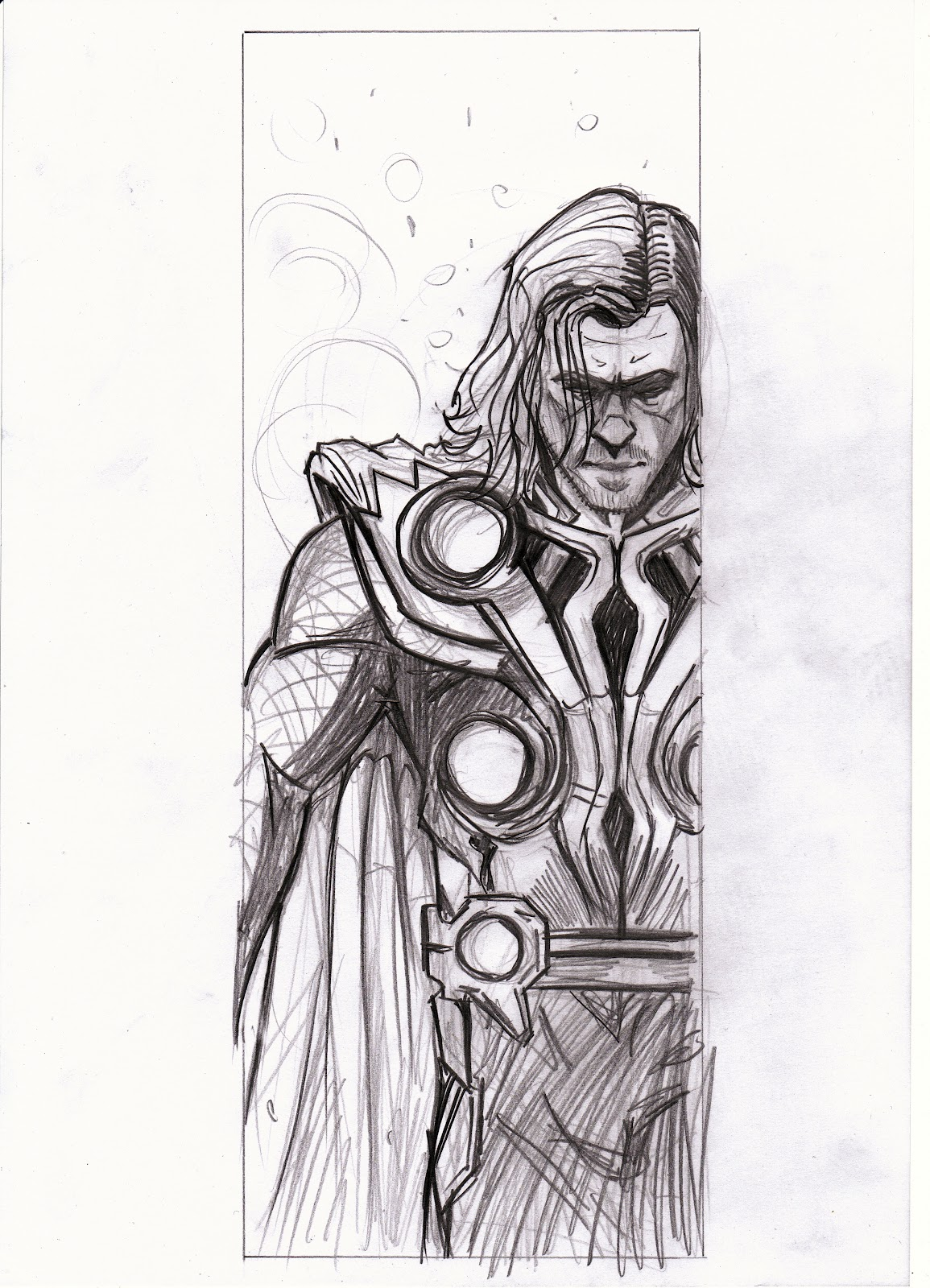 Matt Haworth Waste Of Paint Loki And Thor Sketch To Colour!