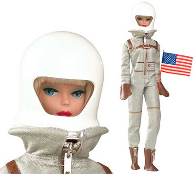 Barbie doll as astronaut