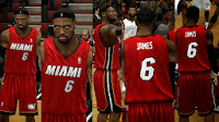 NBA 2K14 Heat Old Alt Jersey