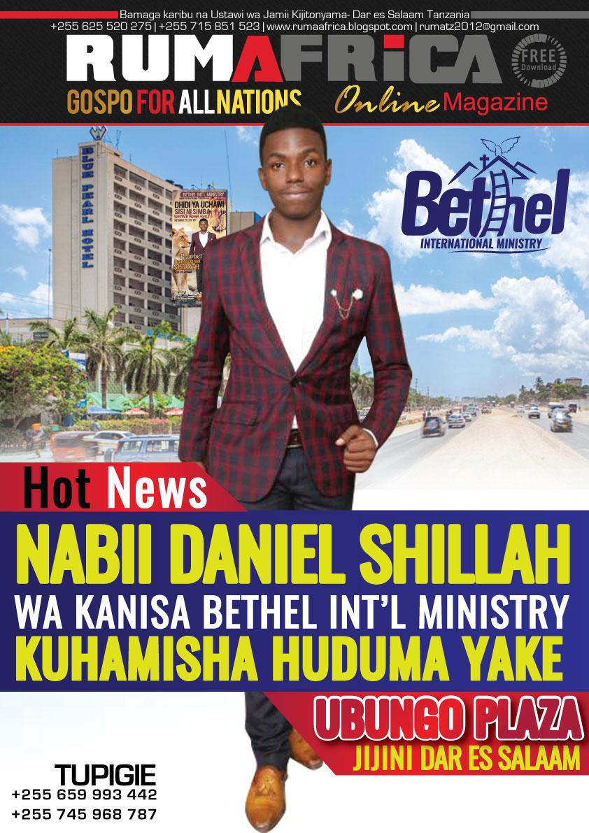 NABII DANIEL SHILLAH - UBUNGO PLAZA
