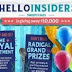 INSTANT WIN AND SWEEPSTAKES HELLO INSIDERS