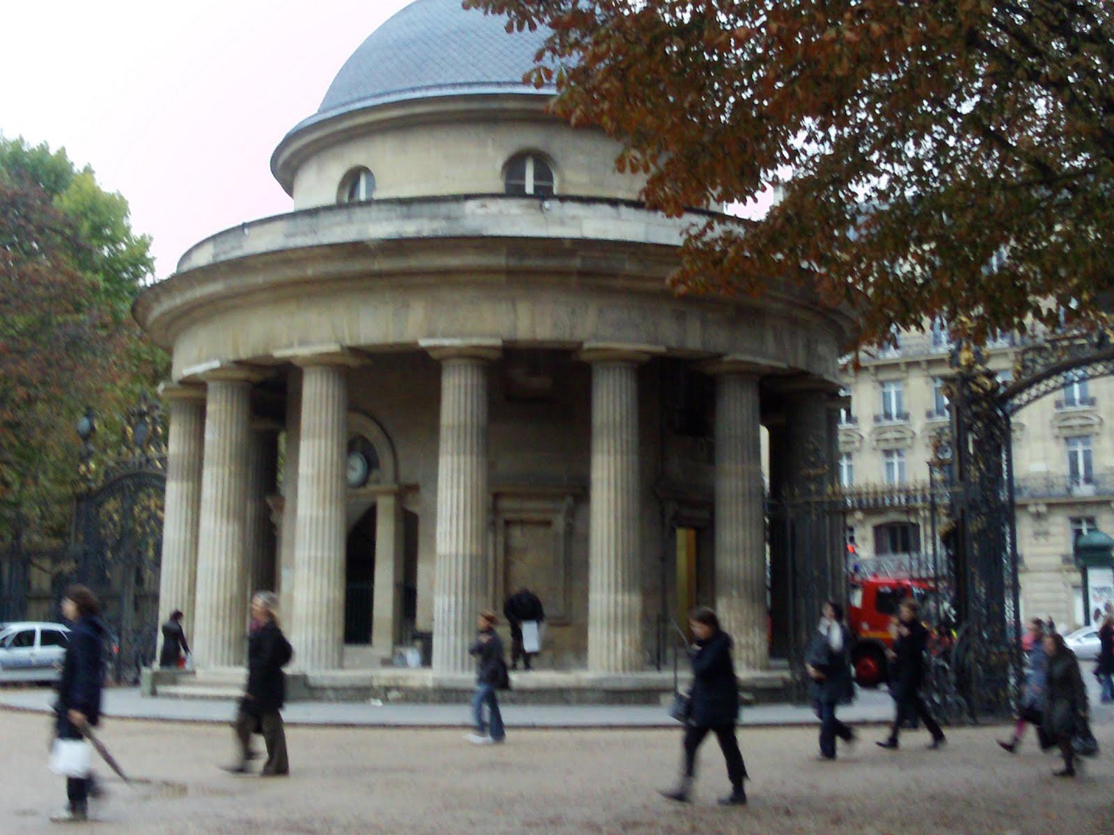 Monceau Park Entrance
