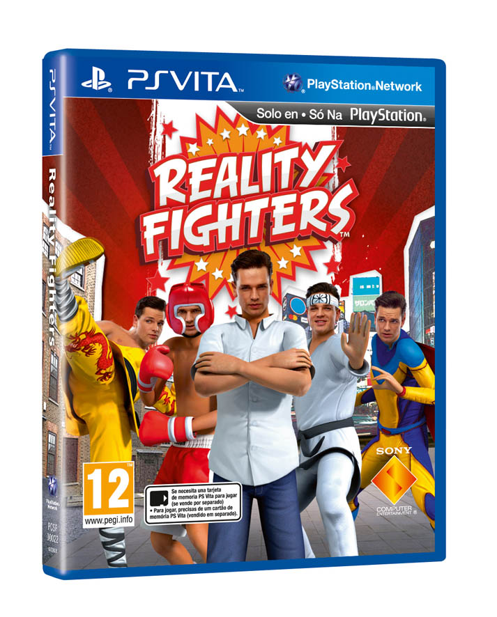 telecharger Reality Fighters Ps vita