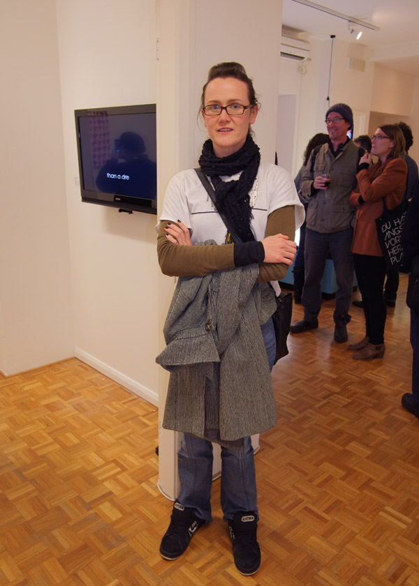 Street Style - Camilla, Jeans with seam down front and no back pockets - MCAP 12 Chrissie Cotter Gallery.