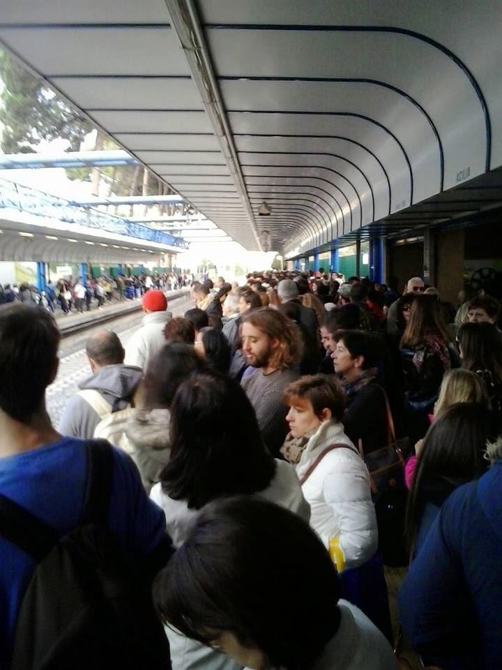 Roma-Lido Stazione di Acilia ore 7.40