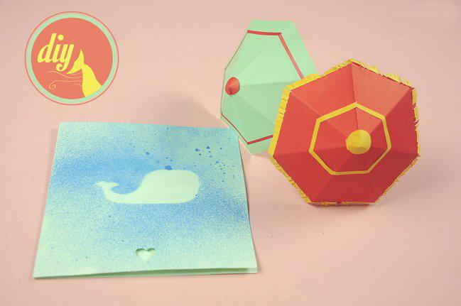 Manualidades para regalar originales tarjetas salpicadas - Manualidades para hacer tarjetas ...