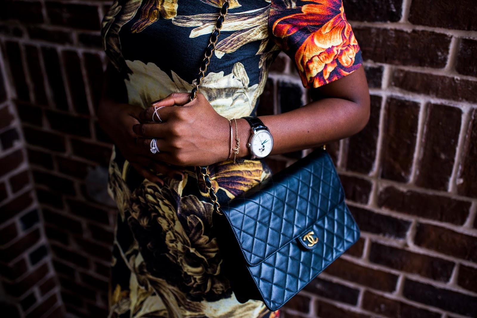 Fall Fashion trend: Floral dress