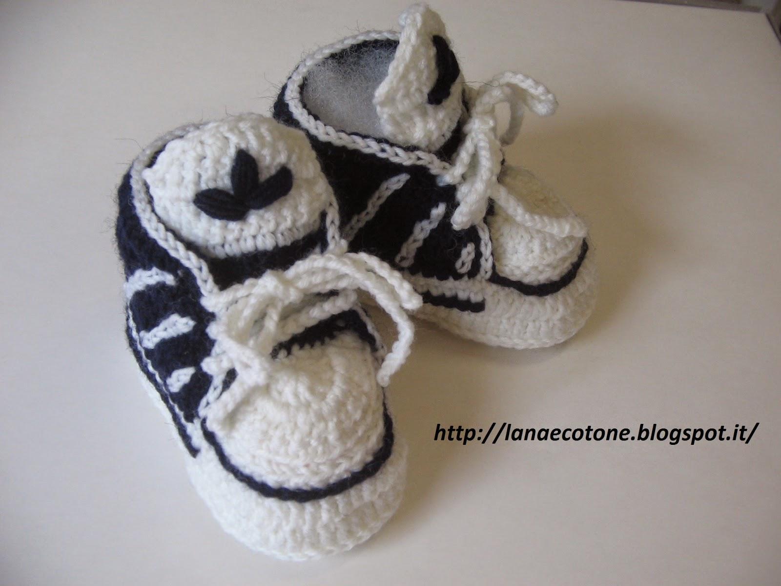 scarpine adidas neonato