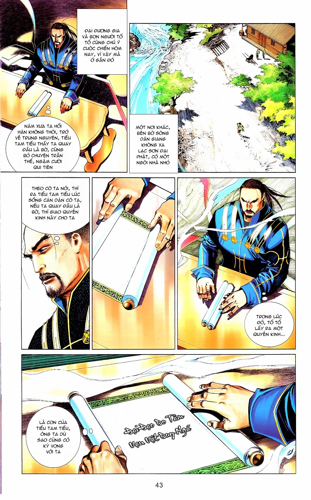 Phong Vân chap 666 Trang 43 - Mangak.info