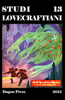 Studi Lovecraftiani n. 13 copertina classica